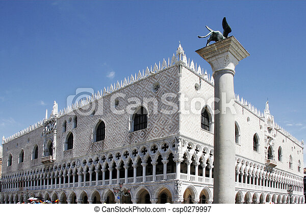 Palazzo Ducale, Venice, Italy - csp0279997