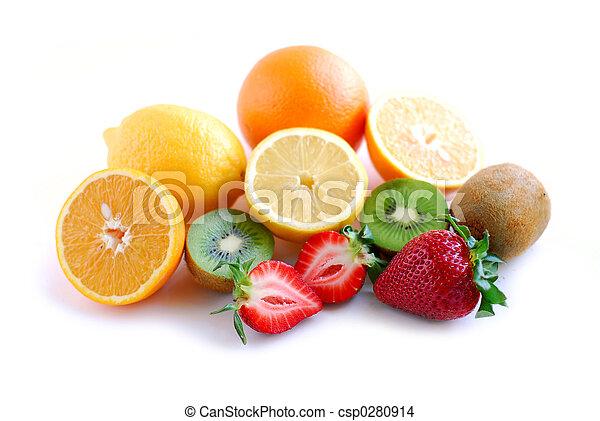 フルーツ, 分類される - csp0280914