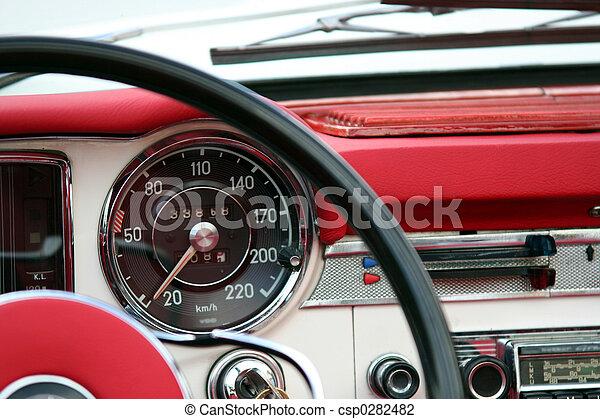 Vintage automobile - csp0282482