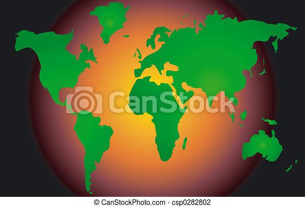 Global Warming - csp0282802