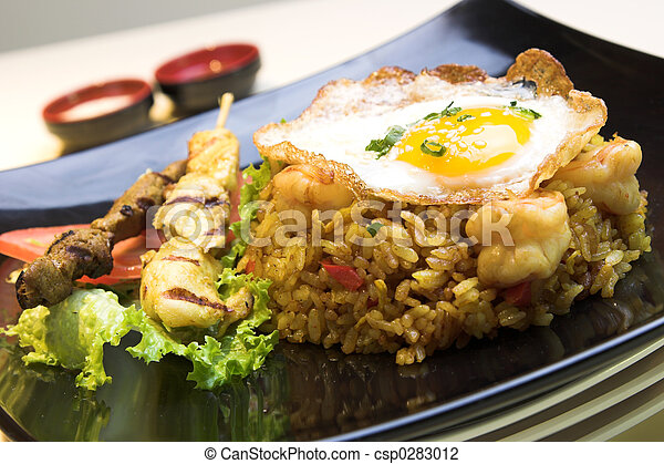 Indonesian Fried Rice - csp0283012