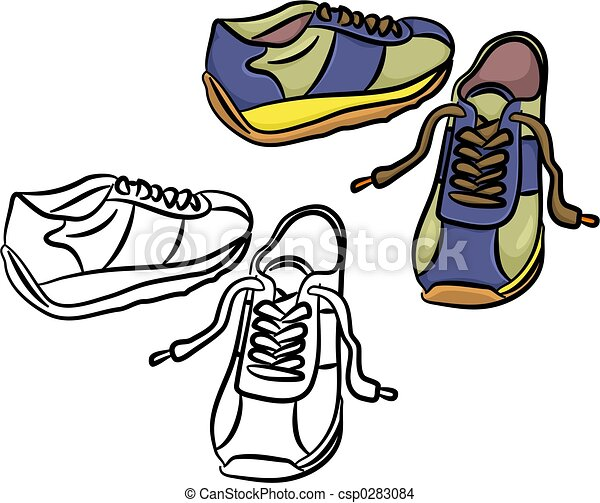 Stock illustration trainers stock illustration royalty free