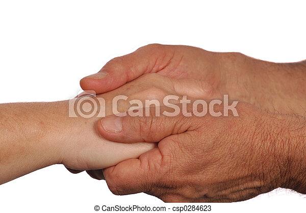 Comforting Hands - csp0284623