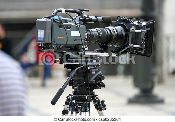 Professional Camera - csp0285304