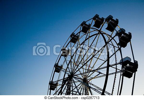 Ferris wheel - csp0287713