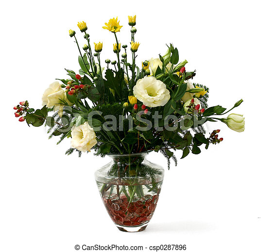 Flower bouquet - csp0287896