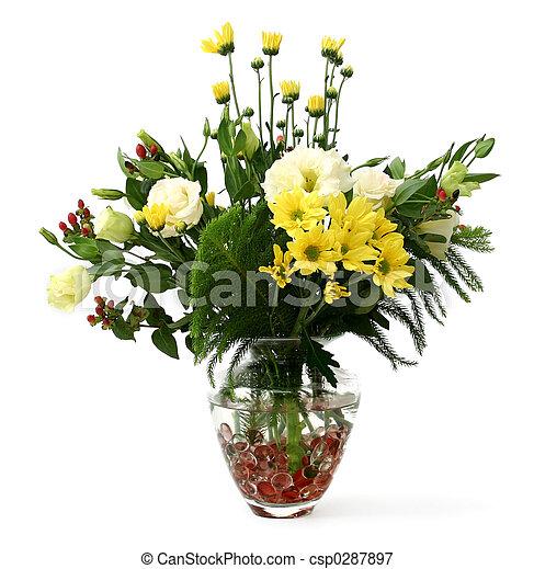 Garden flowers - csp0287897