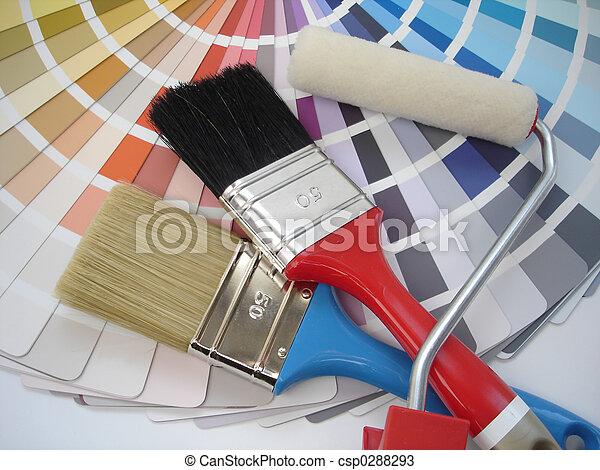 Paint brush - csp0288293