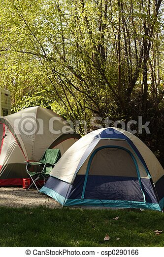 Early Morning Camp - csp0290166