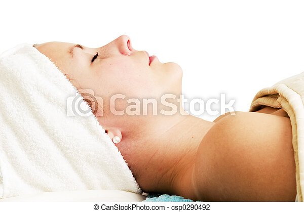 Beauty Spa Facial - csp0290492
