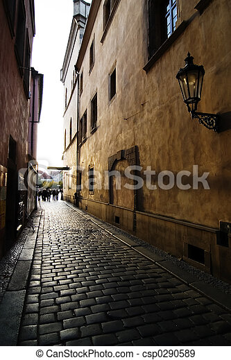 Small Street - csp0290589