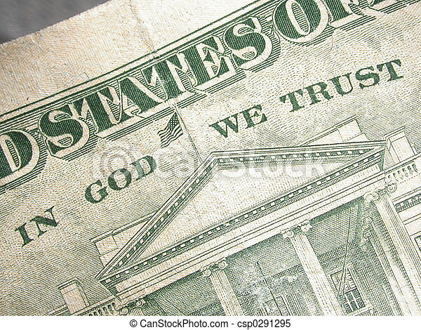 In God We Trust - csp0291295