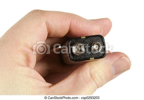 Nine Volt Battery - csp0293203