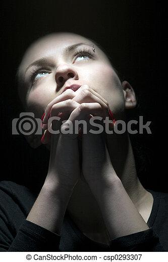 beauty prayer - csp0293307
