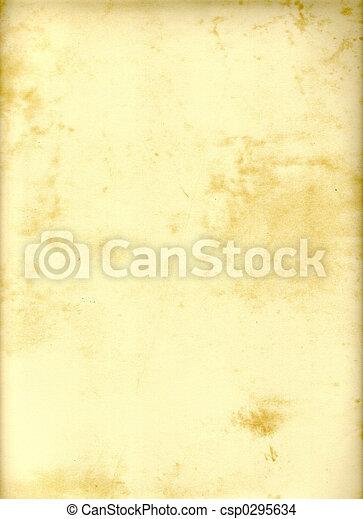 ペーパー, 羊皮紙 - csp0295634