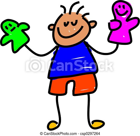 puppet kid - csp0297264
