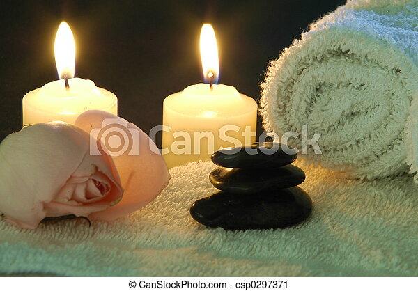 spa night at home - csp0297371