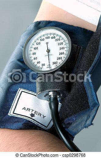 Checking Blood Press - csp0298768