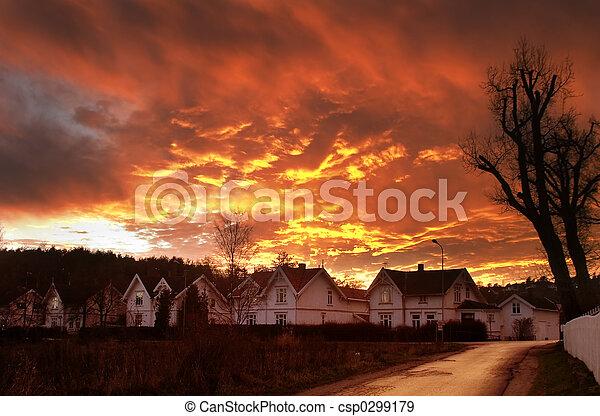 Dramatic Clouds - csp0299179