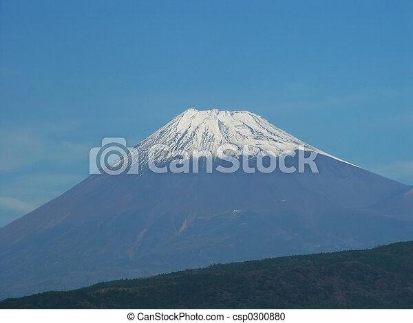 Japan Hakone Mt Fuji Closer - csp0300880