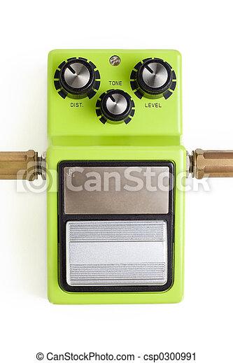 Distortion efx pedal - csp0300991