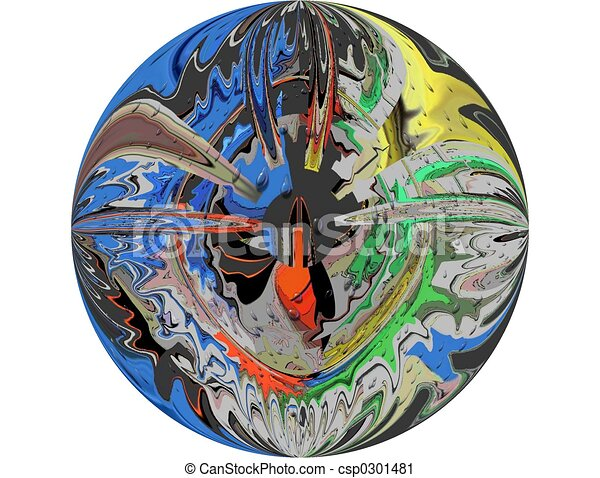 Round Spin Art 1 - csp0301481