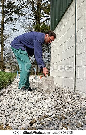 Levelling Gravel - csp0303786