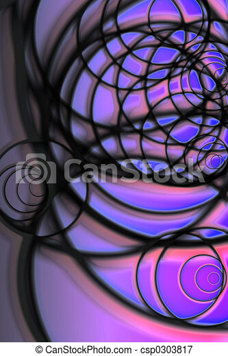 Dramatic Abstract - csp0303817