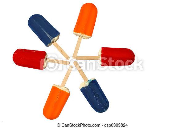 popsicles - csp0303824