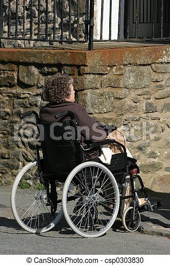 Elderly Difficulties - csp0303830