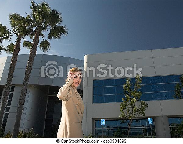 outside office