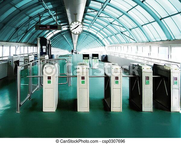 subway  station - csp0307696