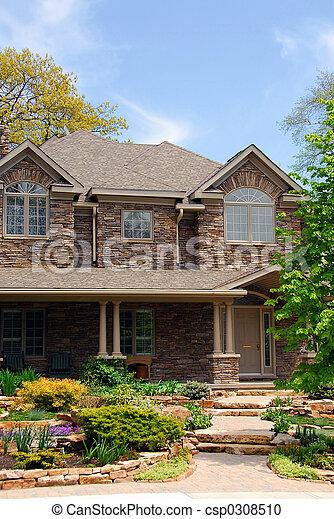 Luxury home - csp0308510