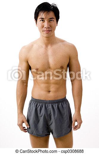 Male model Asian role