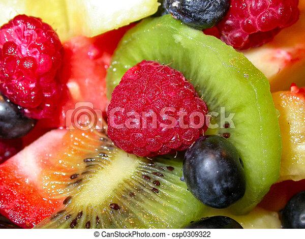 フルーツ, サラダ - csp0309322