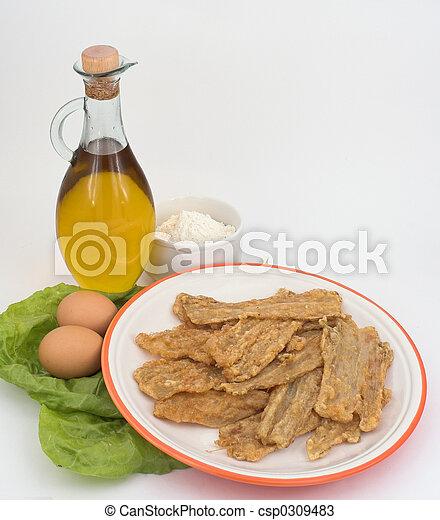 Pencas (spanish gastronomy) - csp0309483