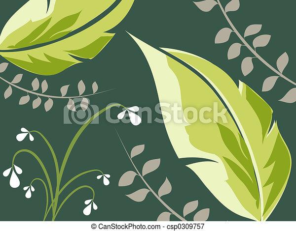 Foliage - csp0309757