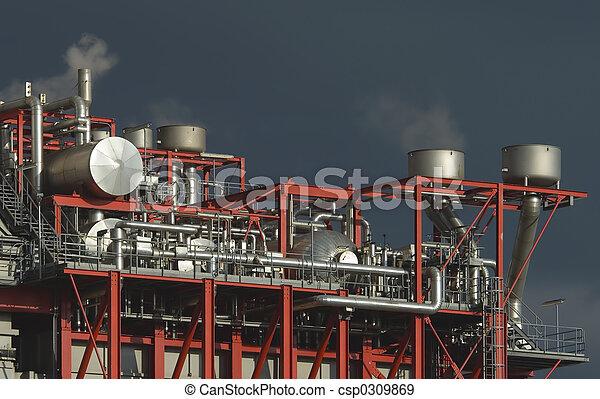 Complex industrial plant - csp0309869