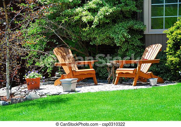 House patio - csp0310322
