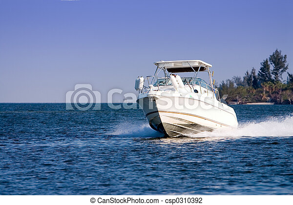 motore, barca - csp0310392