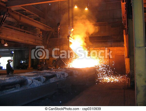 Smelting industry - csp0310939