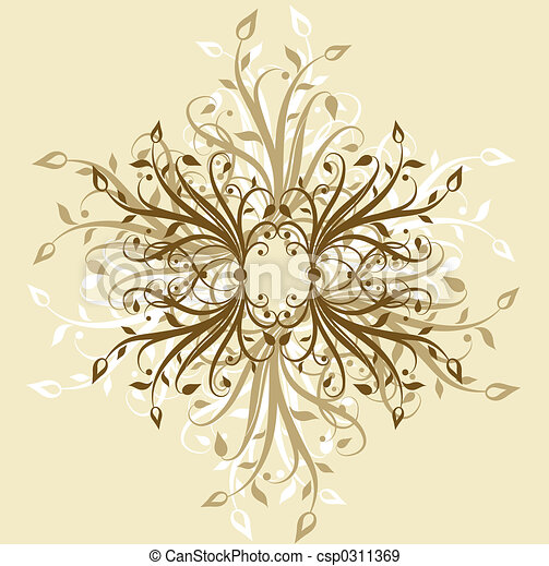 Decorative backgroun - csp0311369