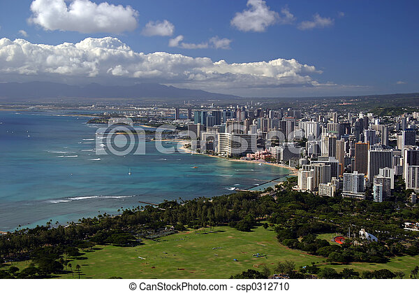Honolulu, Hawaii - csp0312710