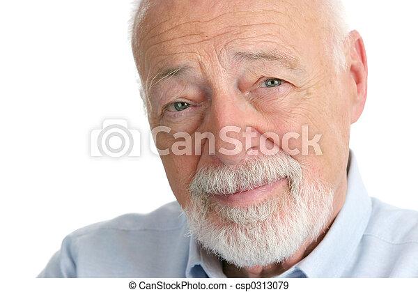 Senior Man - Wisdom - csp0313079