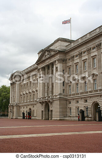 Buckingham Palace, London - csp0313131