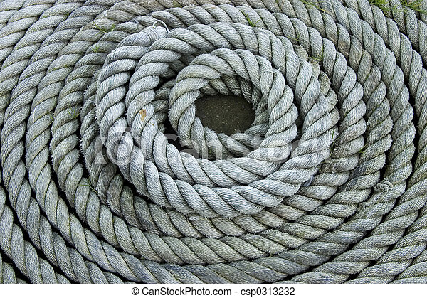 Coiled Rope - csp0313232