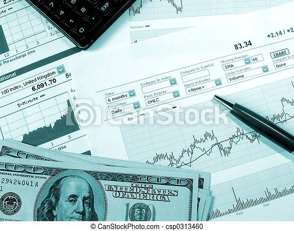 市場, 分析, 股票 - csp0313460