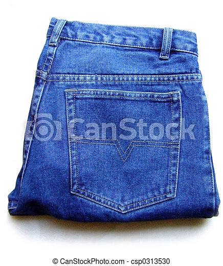 Comment plier Jeans