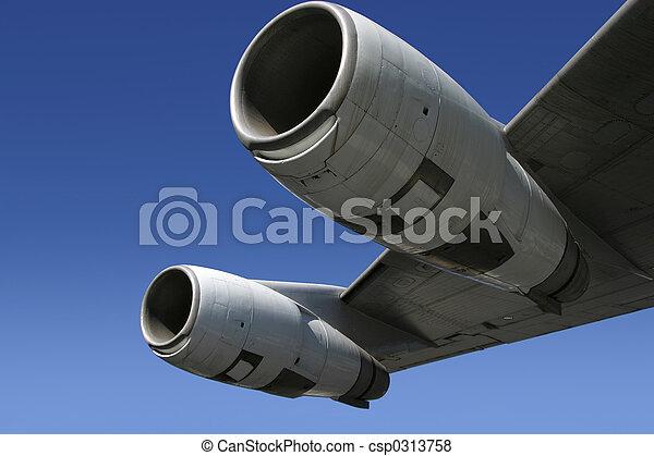 Jet Engine Wing 4 - csp0313758