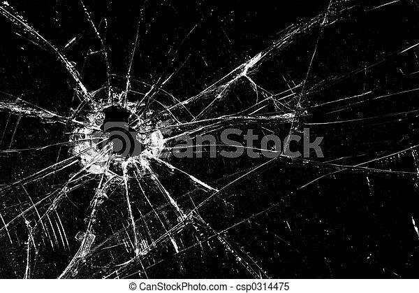 broken glass - csp0314475